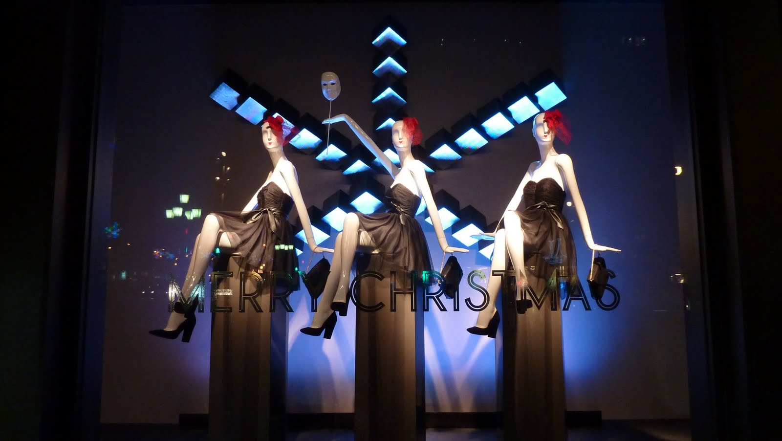 Iluminacion Escaparates Javipop Visual My Top Barcelona Holiday Windows