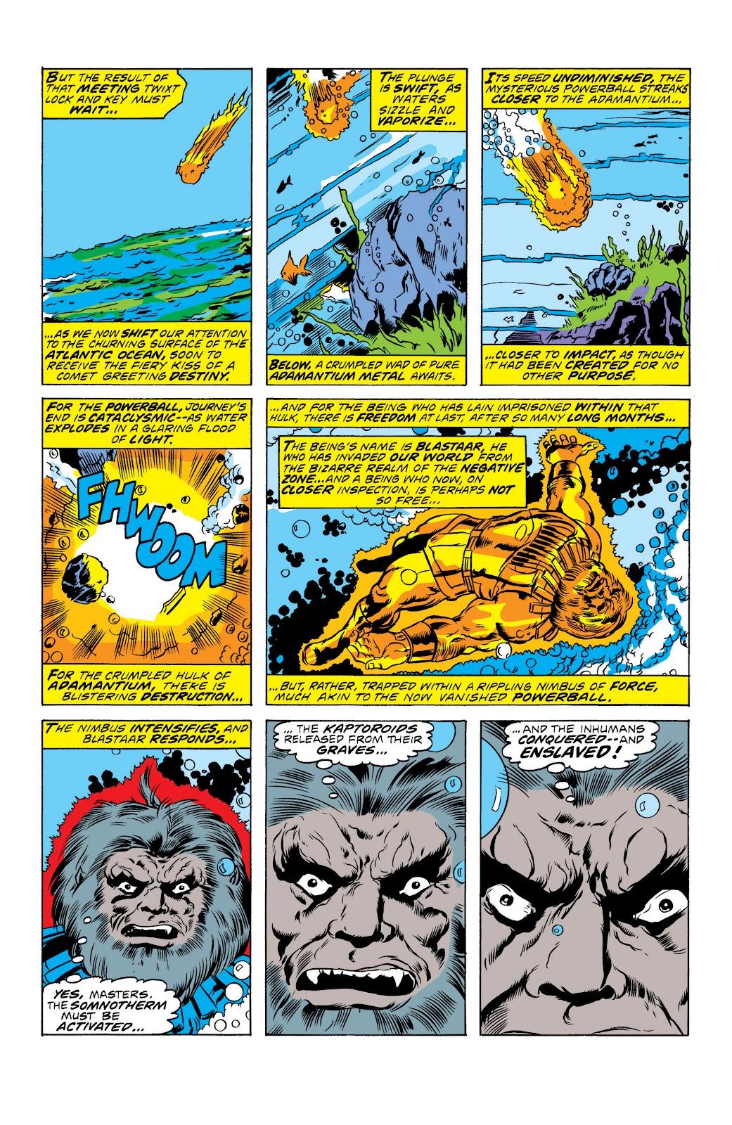 Read online Marvel Masterworks: The Inhumans comic -  Issue # TPB 2 (Part 1) - 13