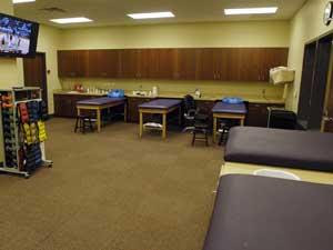 Taping Tables Theraband Wall Stations And Whirlpools The LSU Baseball Team Has One Of Nicest Athletic Training Facilities In College