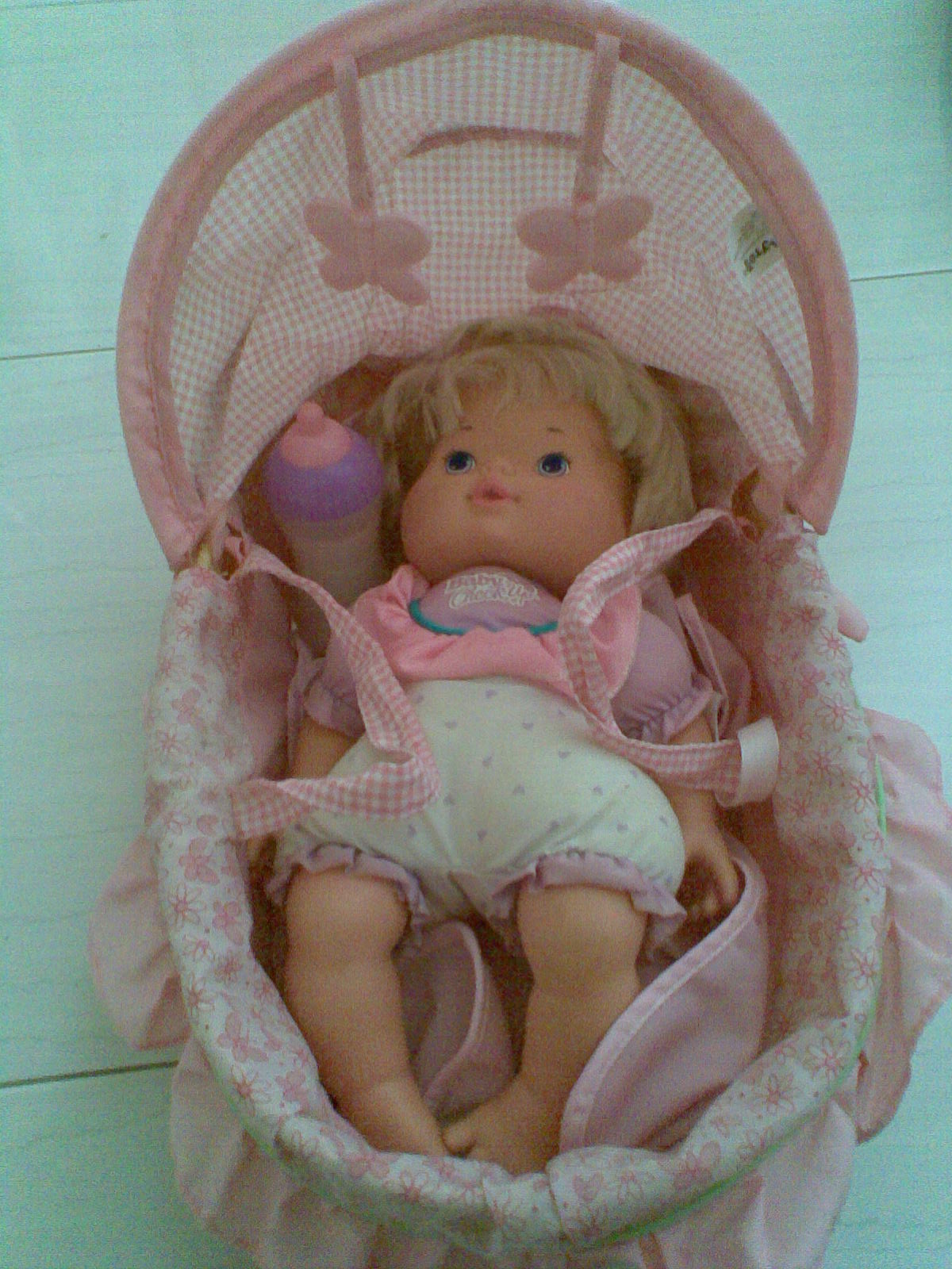 Mybundletoys Fisher Price Little Mommy Doll Cradle With