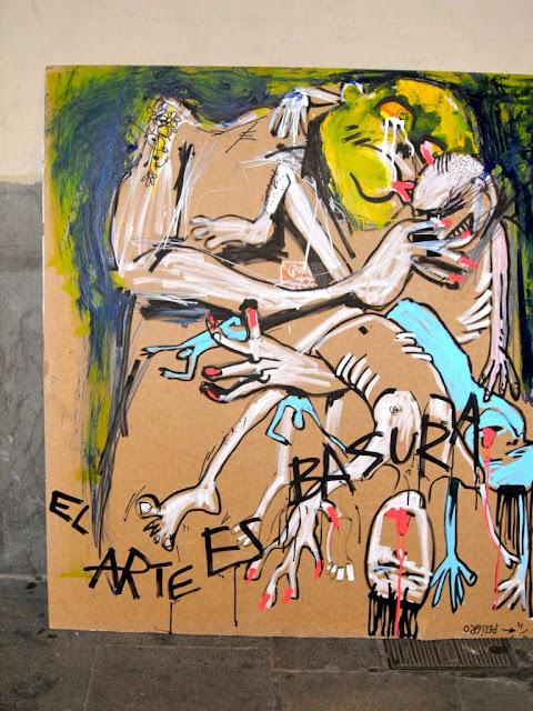 El arte es basura los martes, Raval
