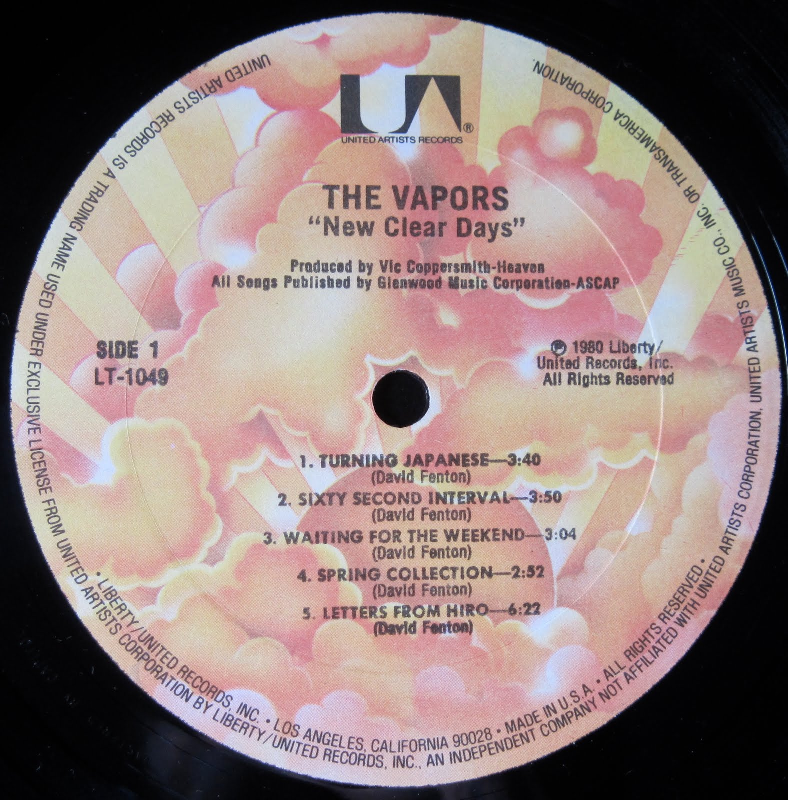 The Devil S Music The Vapors Sixty Second Interval