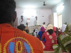 Preaching at a church in India