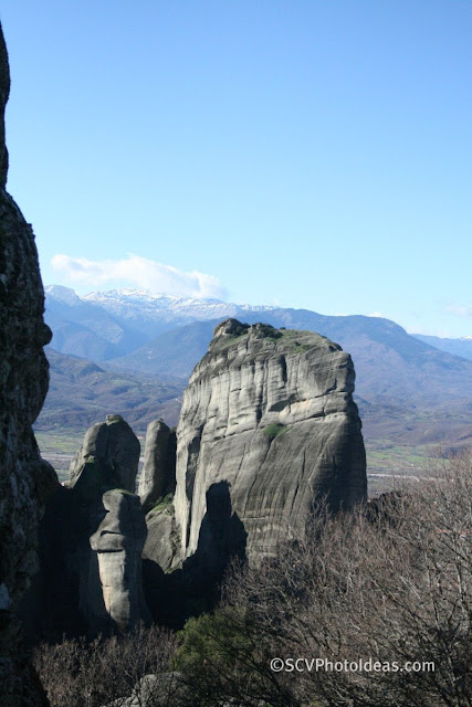 Meteora in December light I