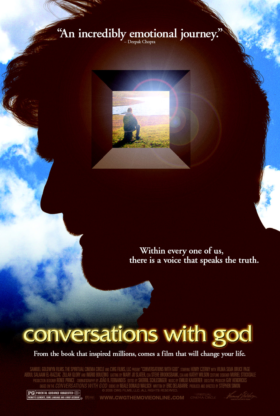 Image result for conversations with god movie