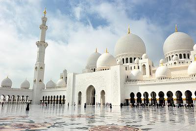 moschea sceicco Zayed Abu Dhabi