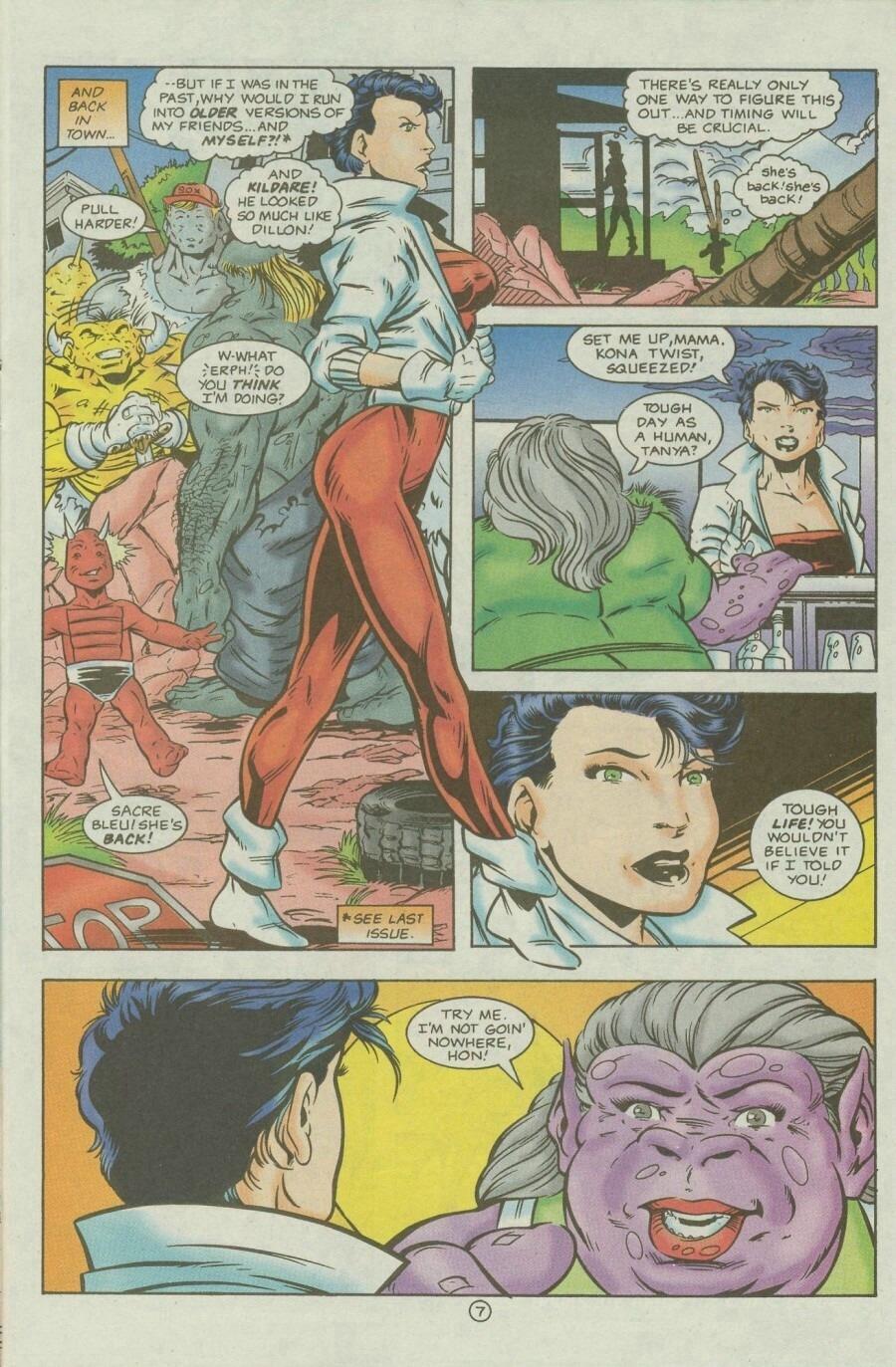 Read online Ex-Mutants comic -  Issue #9 - 9