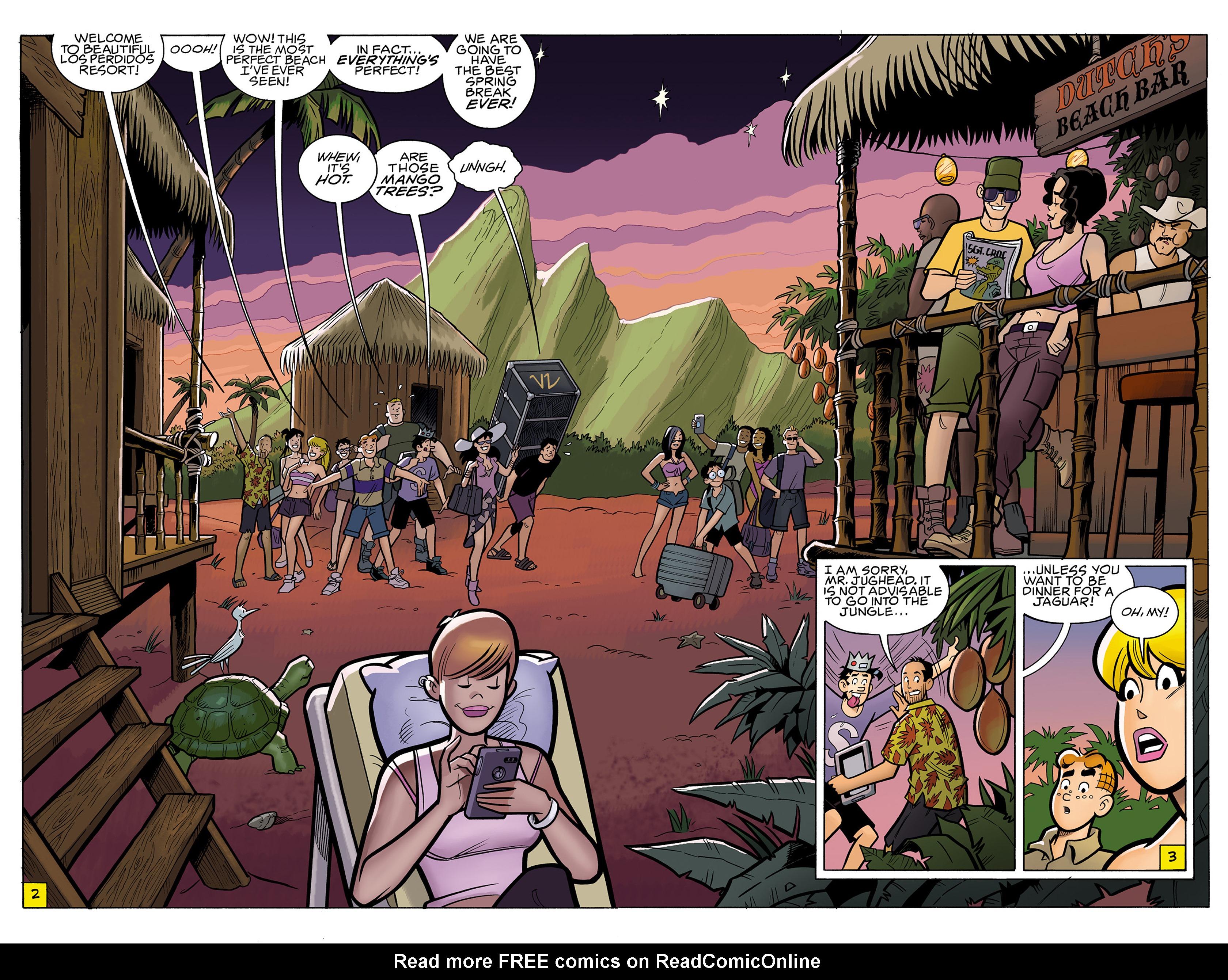Read online Archie vs. Predator comic -  Issue #1 - 4