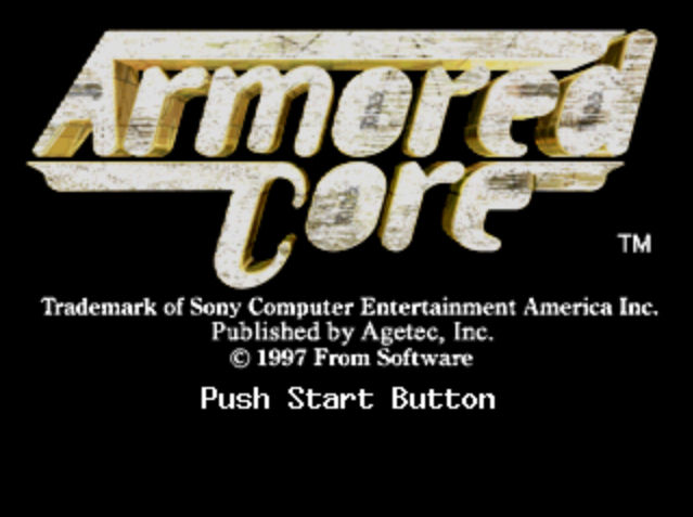 Gaming After 40: At Random: Armored Core (PSX, 1997)