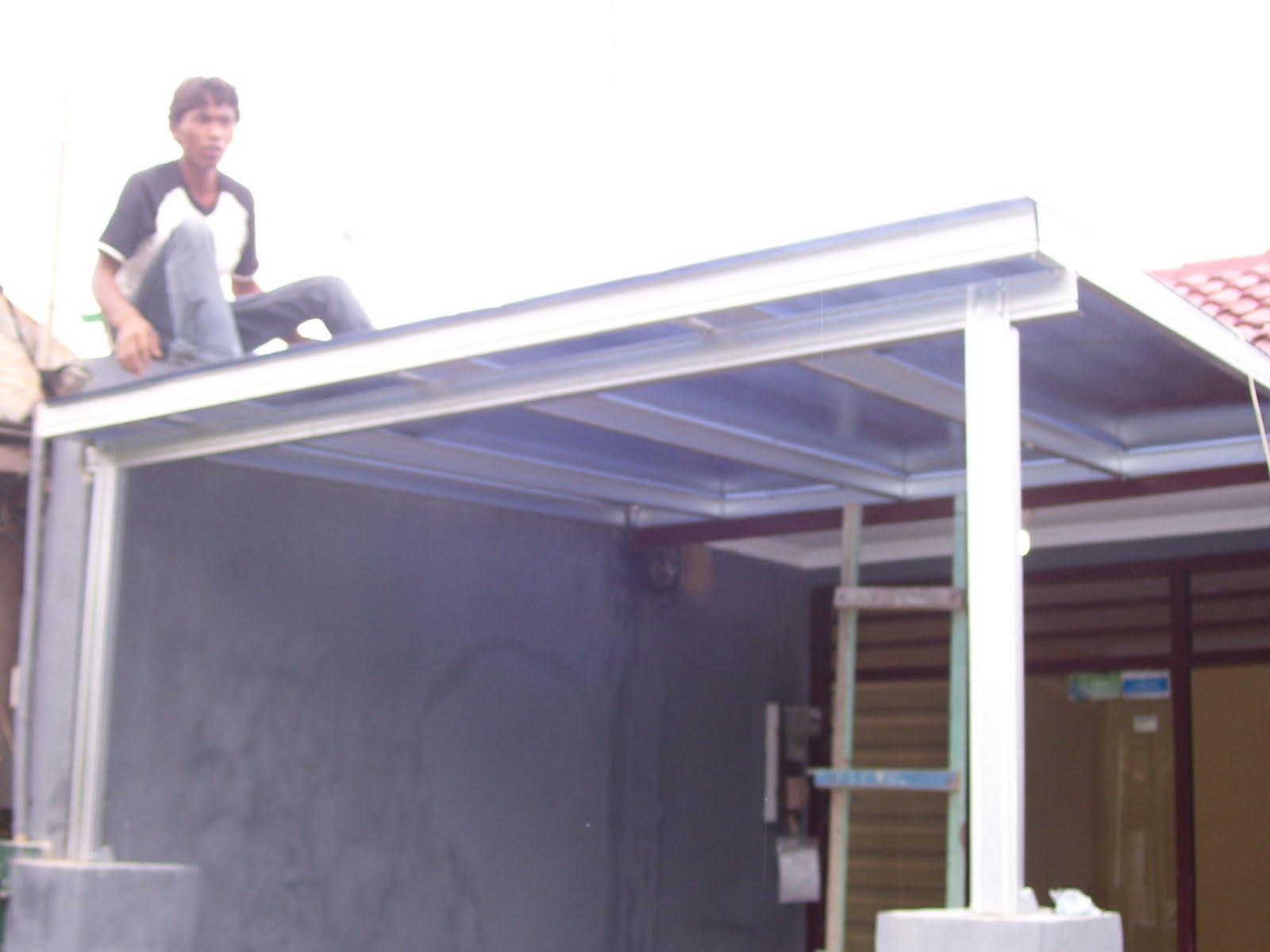 Kanopi Baja Design Rangka Atap Ringan , Arsitecture & Interior ...