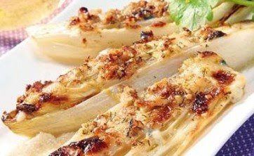 Receta de Ensalada de Endibias con queso Roquefort