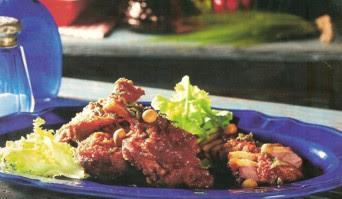 Receta de Pato en Salsa de Almendras y Nueces