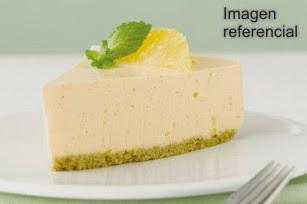 Receta de Cheesecake de Piña
