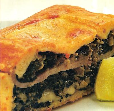 Receta de Tarta de Jamón y Quesos