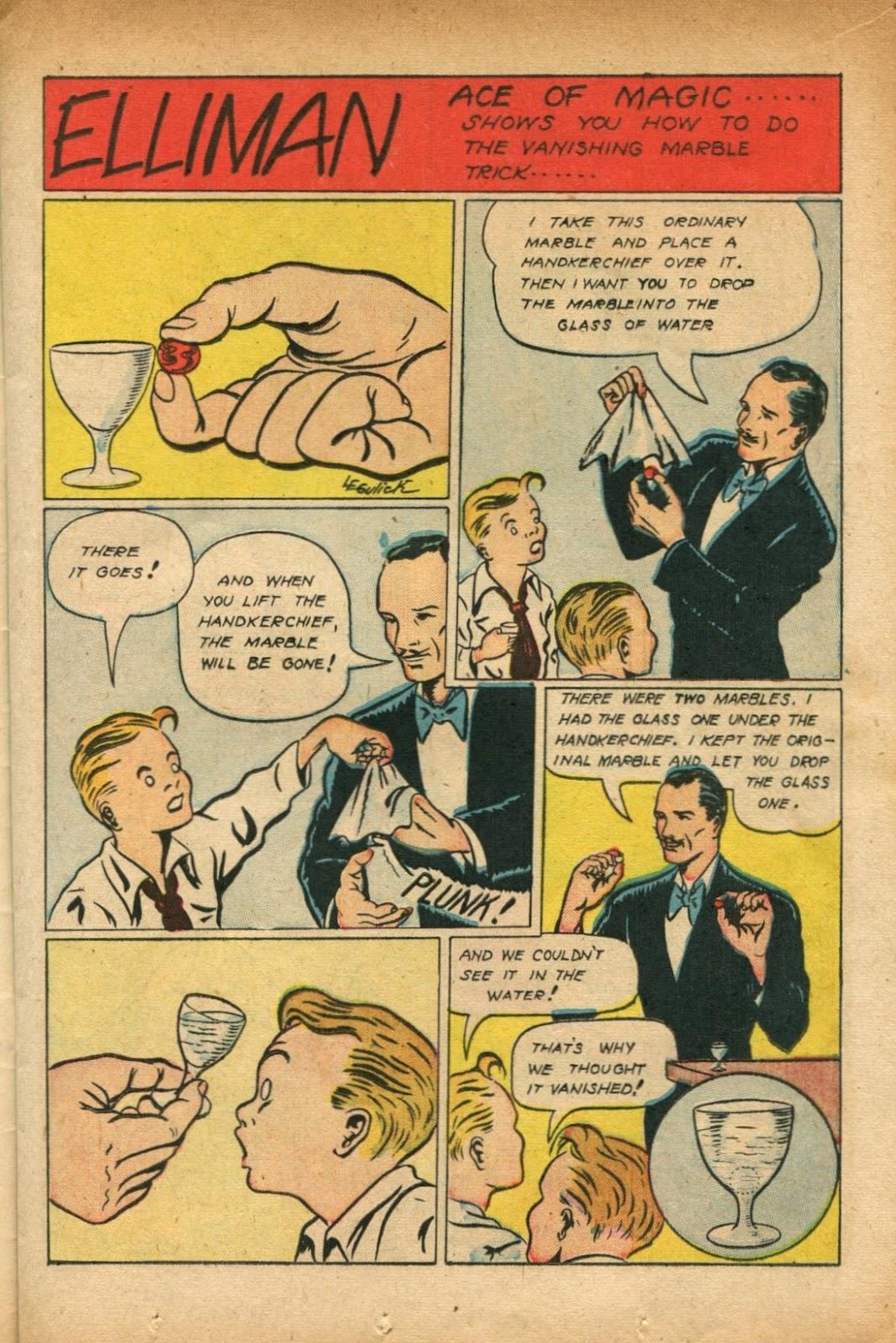 Read online Super-Magician Comics comic -  Issue #51 - 17