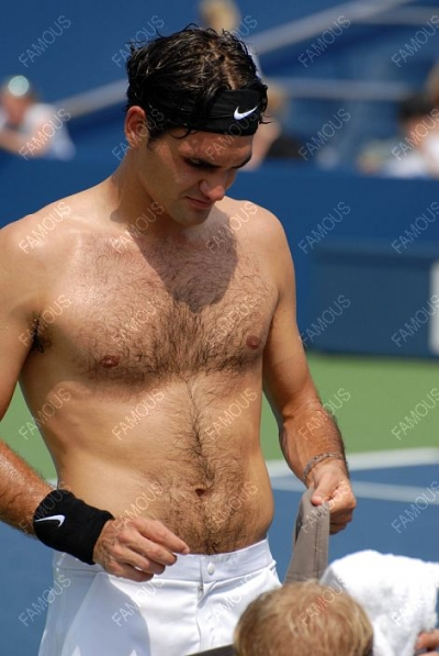 Svetovni šport Roger Federer brez rokavov-1298