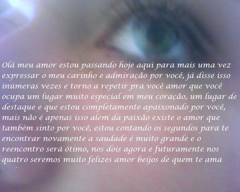 Saudades De Voce Meu Amor: Registros: Saudades De Voce Amor (Falta 35 Dias