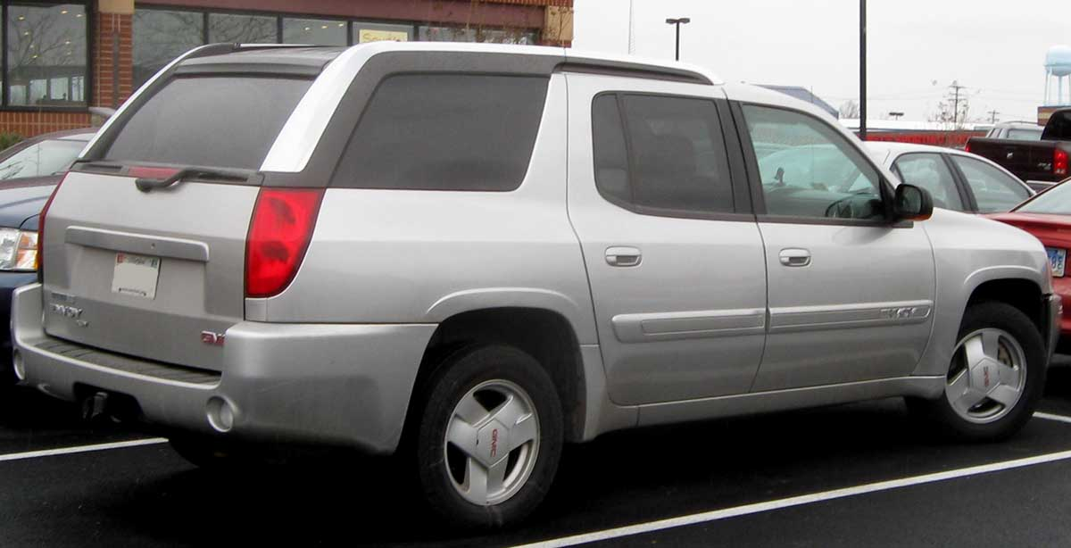 The Ugly Car Blog: GMC Envoy XUV, dedicated to the ugly ...