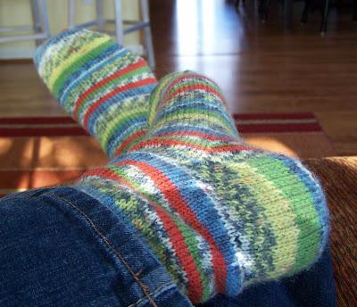I Finished Some Knitting!