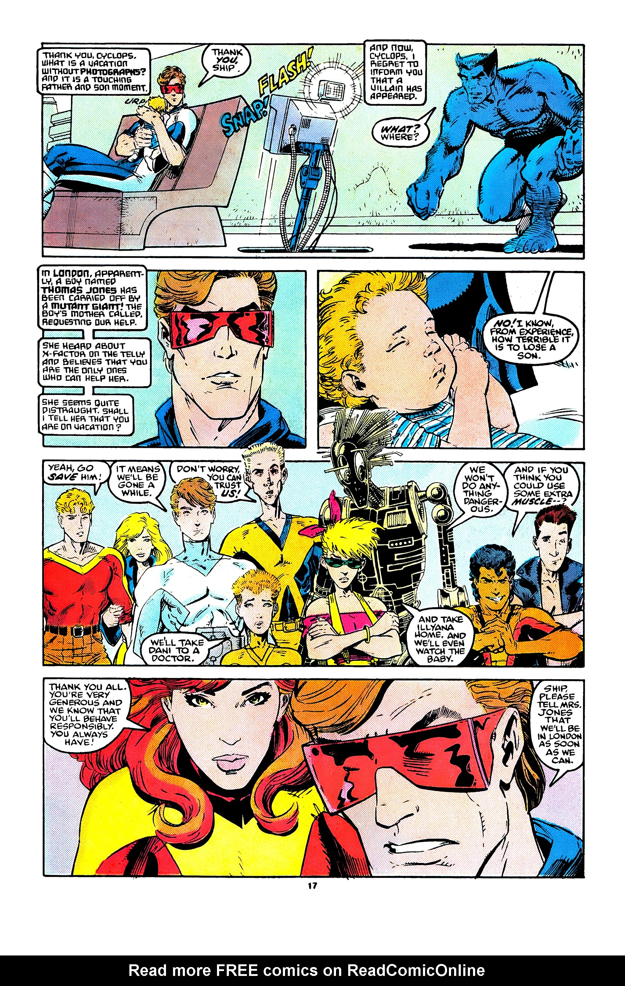 Read online X-Factor (1986) comic -  Issue #41 - 14