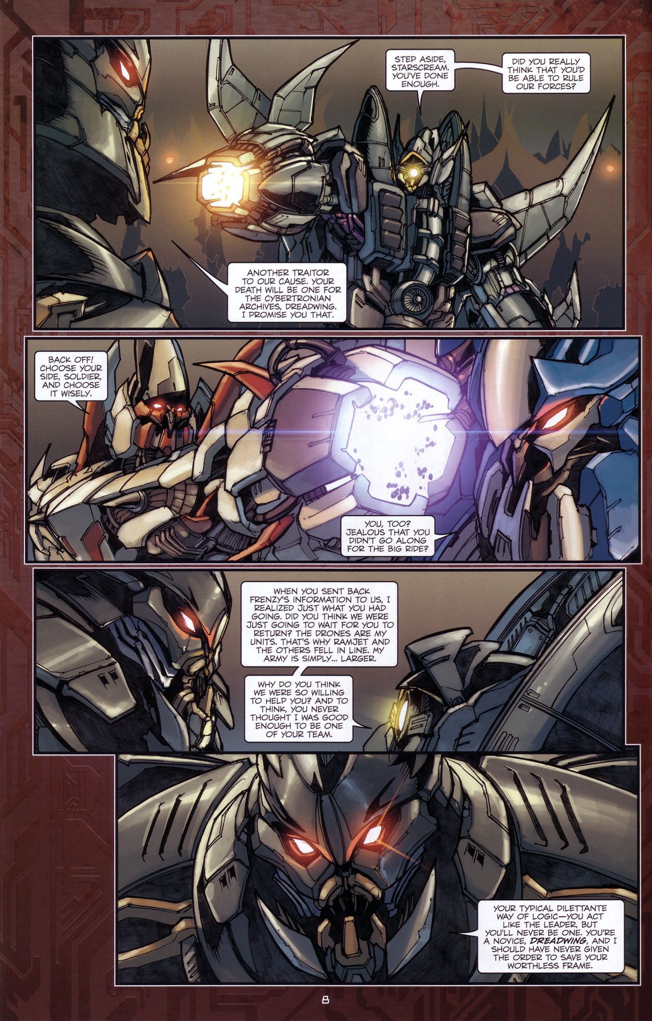 Read online Transformers: The Reign of Starscream comic -  Issue #5 - 11