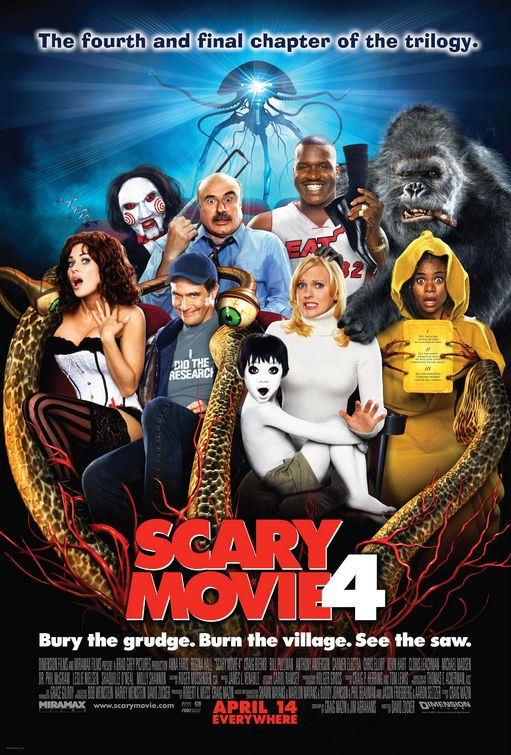 Welcome To The Film Review Blogs Scary Movie 4