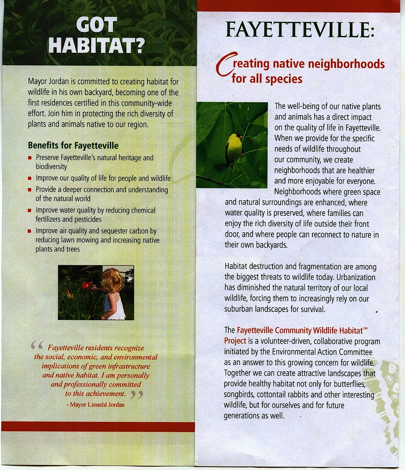 World Peace Wetland Prairie Community Wildlife Habitat