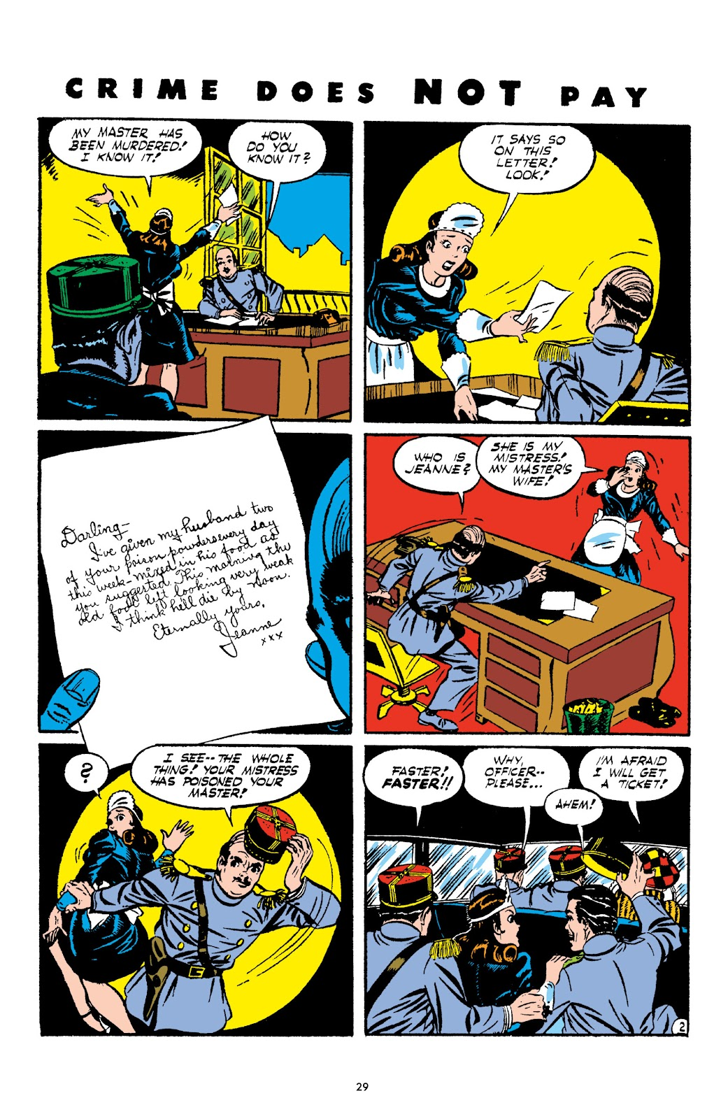 Read online Crime Does Not Pay Archives comic -  Issue # TPB 2 (Part 1) - 29