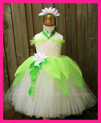Princess Tiana Dress: Halloween Tutu Dresses 2010