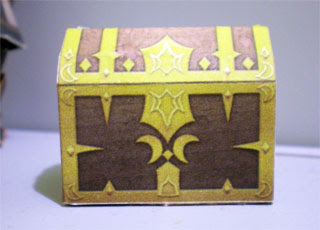 Dissidia Treasure Chest Papercraft