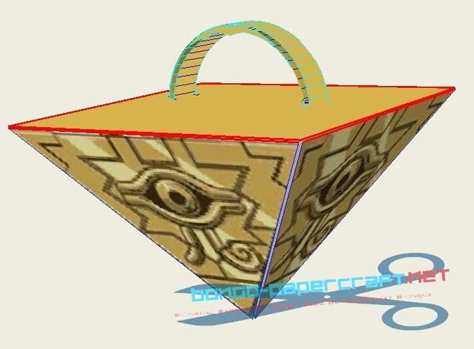 YuGiOh! Millennium Puzzle Papercraft ~ Paperkraft.net ...