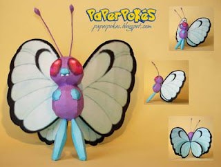 Pokemon Butterfree Papercraft