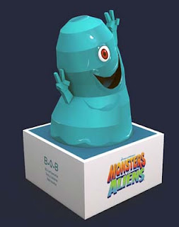 Monsters vs. Aliens BOB Papercraft