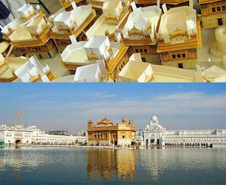 Golden Temple Papercraft
