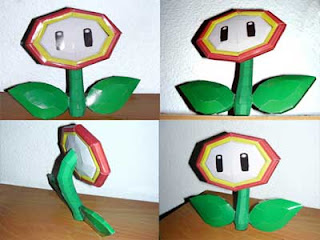 Fire Flower Papercraft