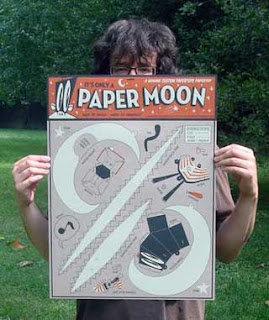 Paper Moon Papercraft