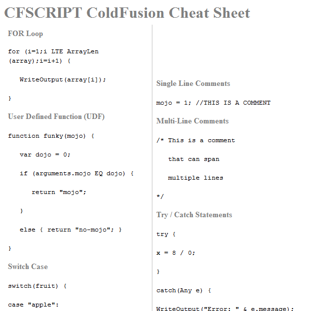cfSearching: ColdFusion: Experiment Converting MS Word to