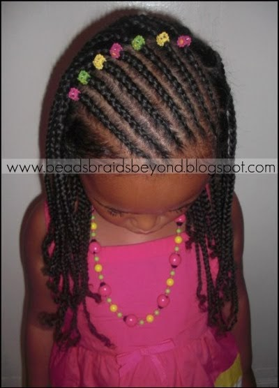 Beads Braids And Beyond Slanted Cornrows And Natural Box