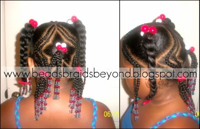 Cool Beads Braids And Beyond 4Th Of July Hair Share Hairstyles For Women Draintrainus