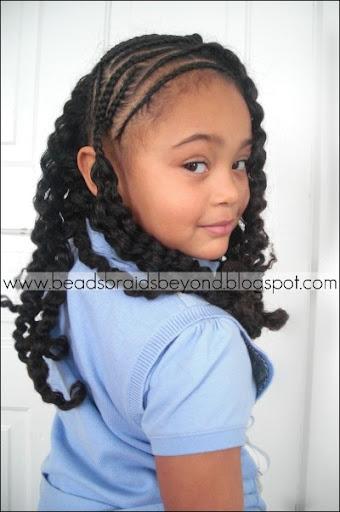 Superb Side Cornrows With Braid Out Natural Hair Curlynikki Natural Short Hairstyles Gunalazisus