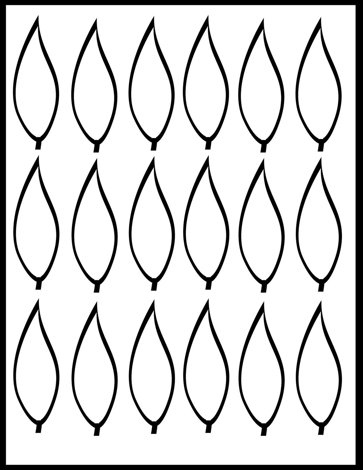 Challenger turkey feather template printable - Mason Website