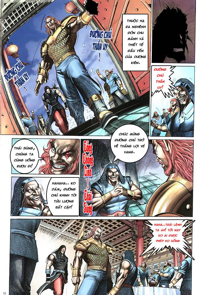 Anh hùng vô lệ chap 4 trang 13