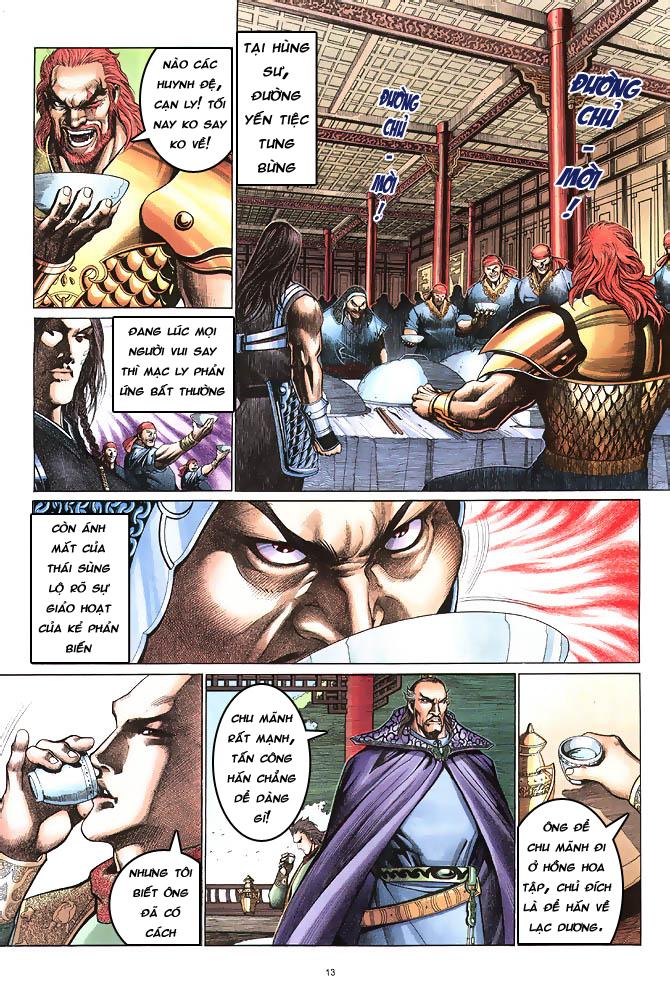 Anh hùng vô lệ chap 4 trang 14