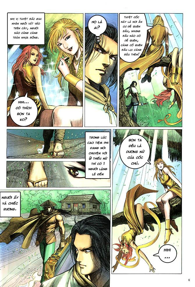 Anh hùng vô lệ chap 4 trang 7