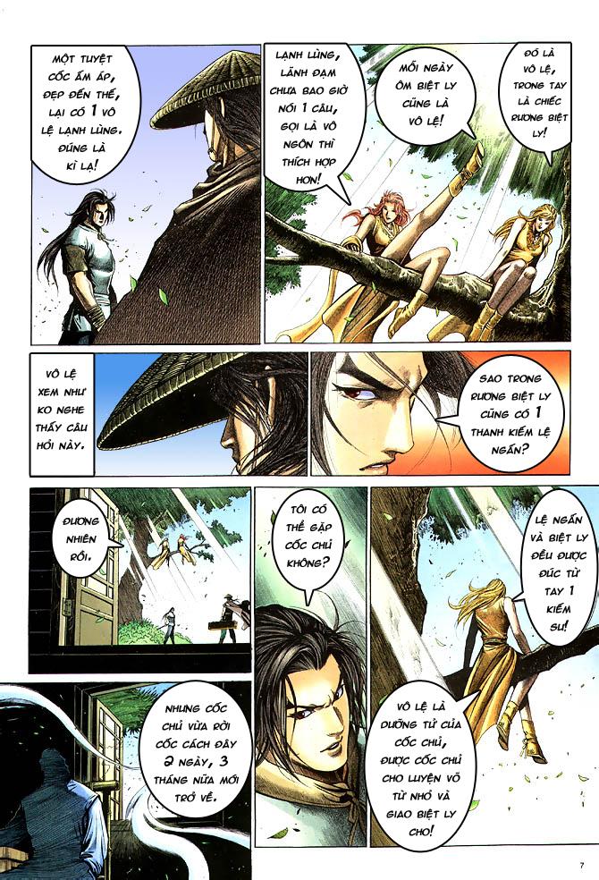 Anh hùng vô lệ chap 4 trang 8