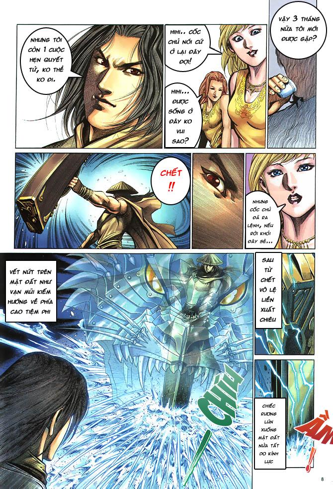 Anh hùng vô lệ chap 4 trang 9