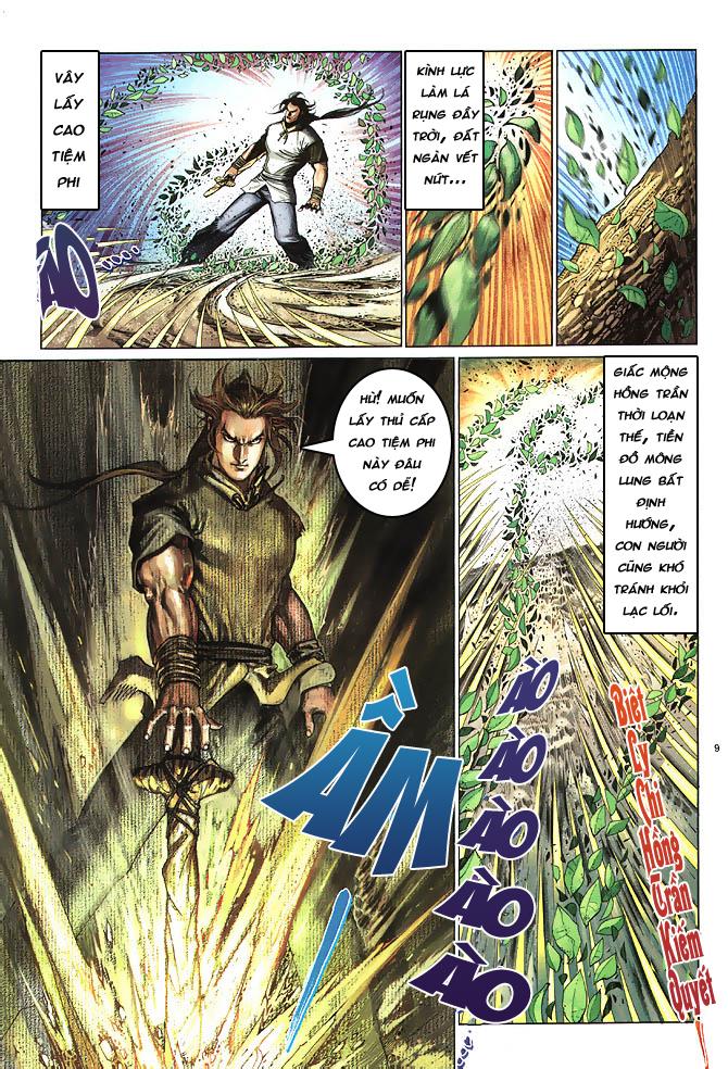Anh hùng vô lệ chap 4 trang 10