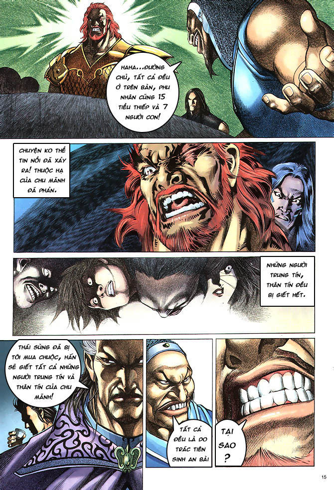 Anh hùng vô lệ chap 4 trang 16