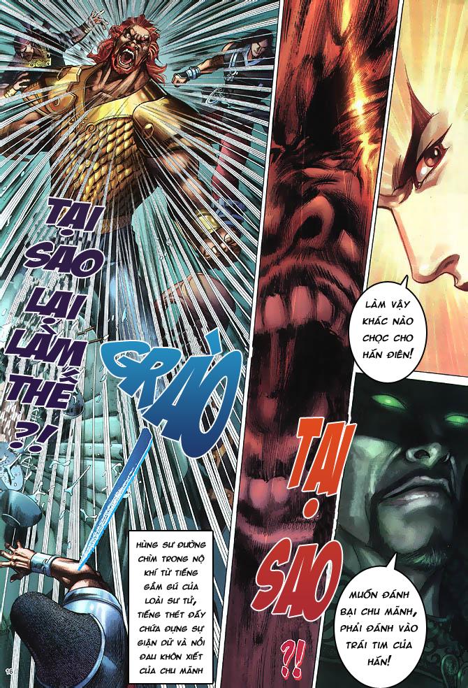 Anh hùng vô lệ chap 4 trang 17