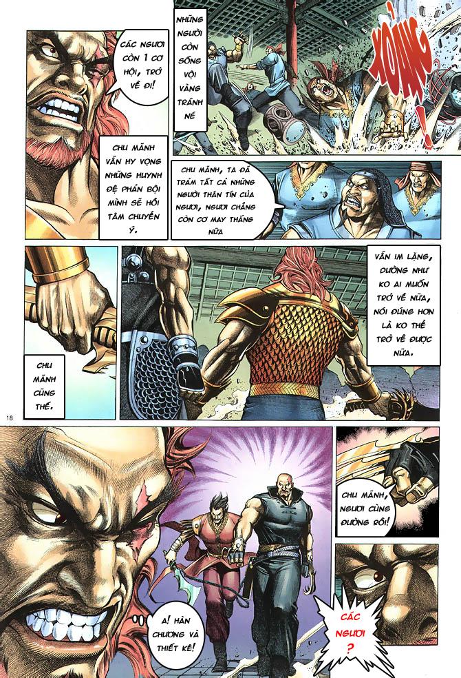 Anh hùng vô lệ chap 4 trang 19